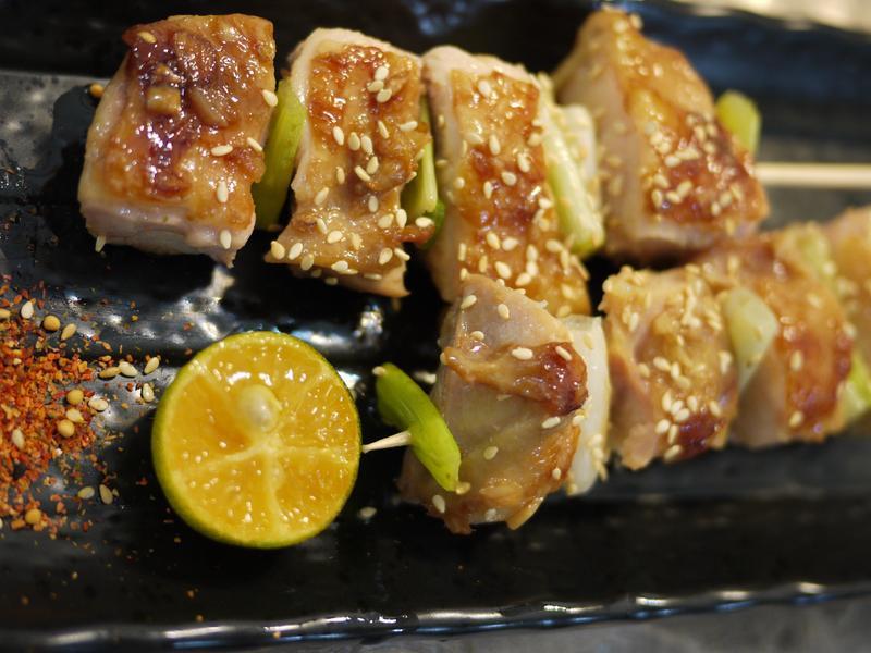 蜂蜜嫩雞串燒