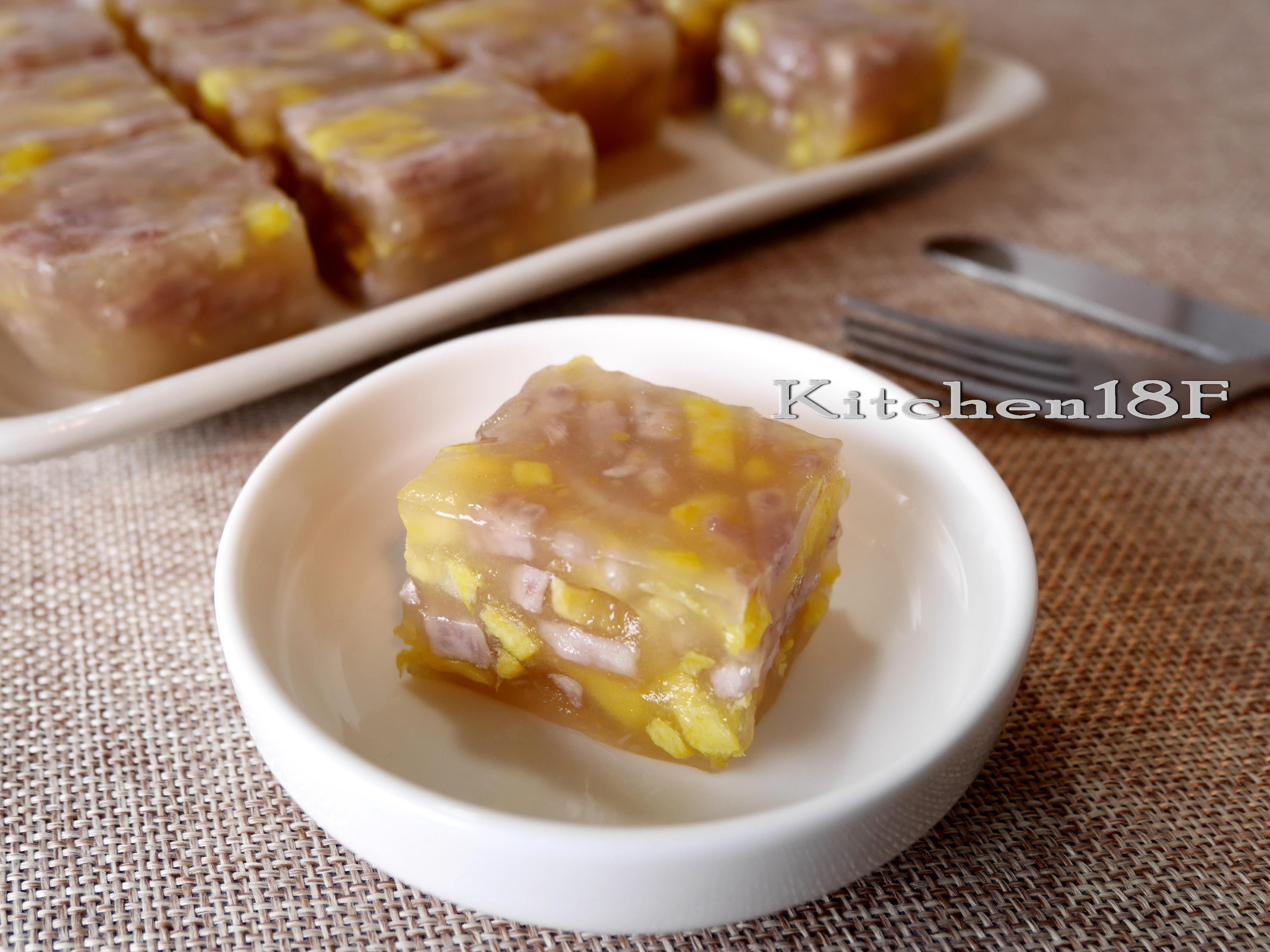 芋頭地瓜雙色水晶粿籤_電鍋料理