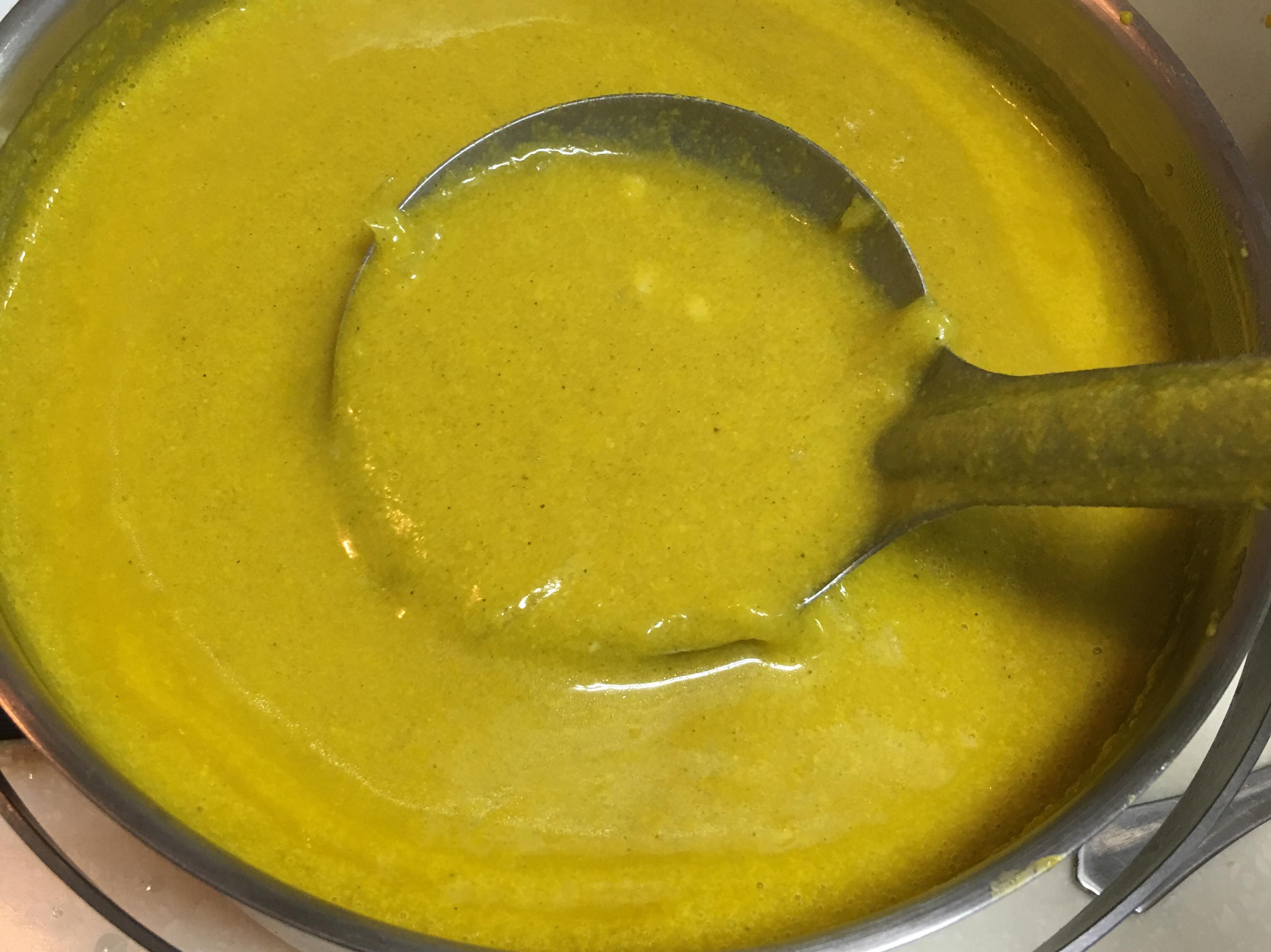 雞肉洋蔥秀珍菇南瓜濃湯