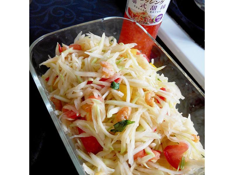 泰式涼拌青木瓜[健康廚房]