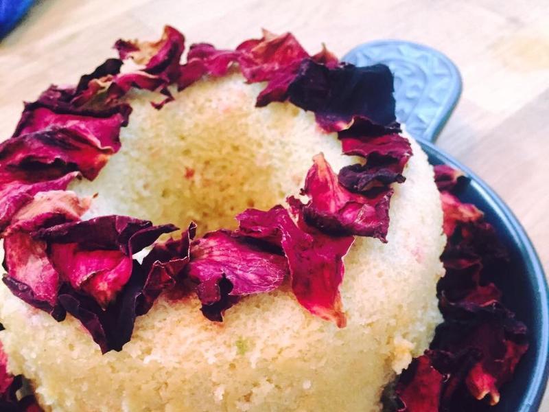 檸香覆盆莓蛋糕