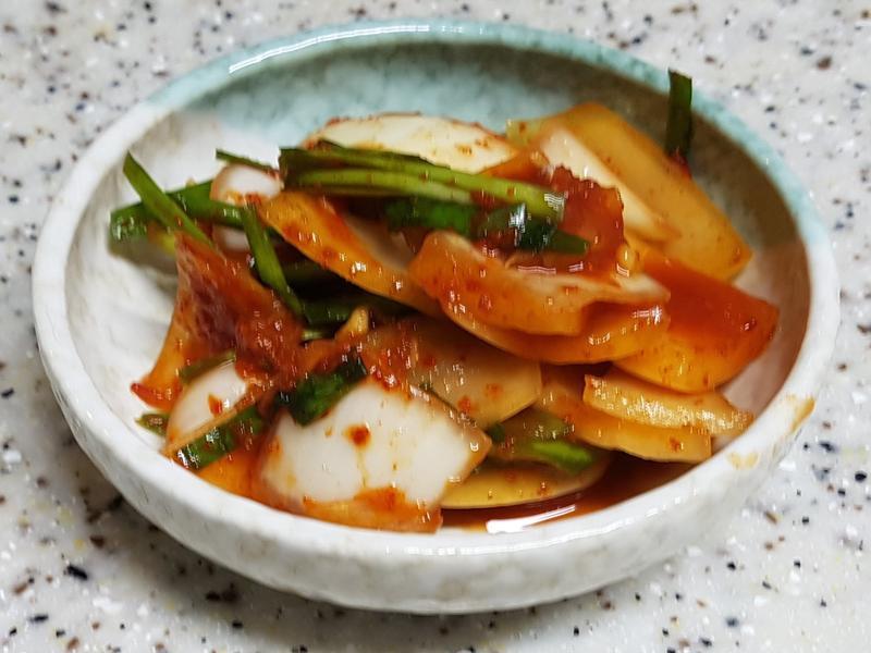 (韓式)洋蔥韮菜泡菜 양파부추김치
