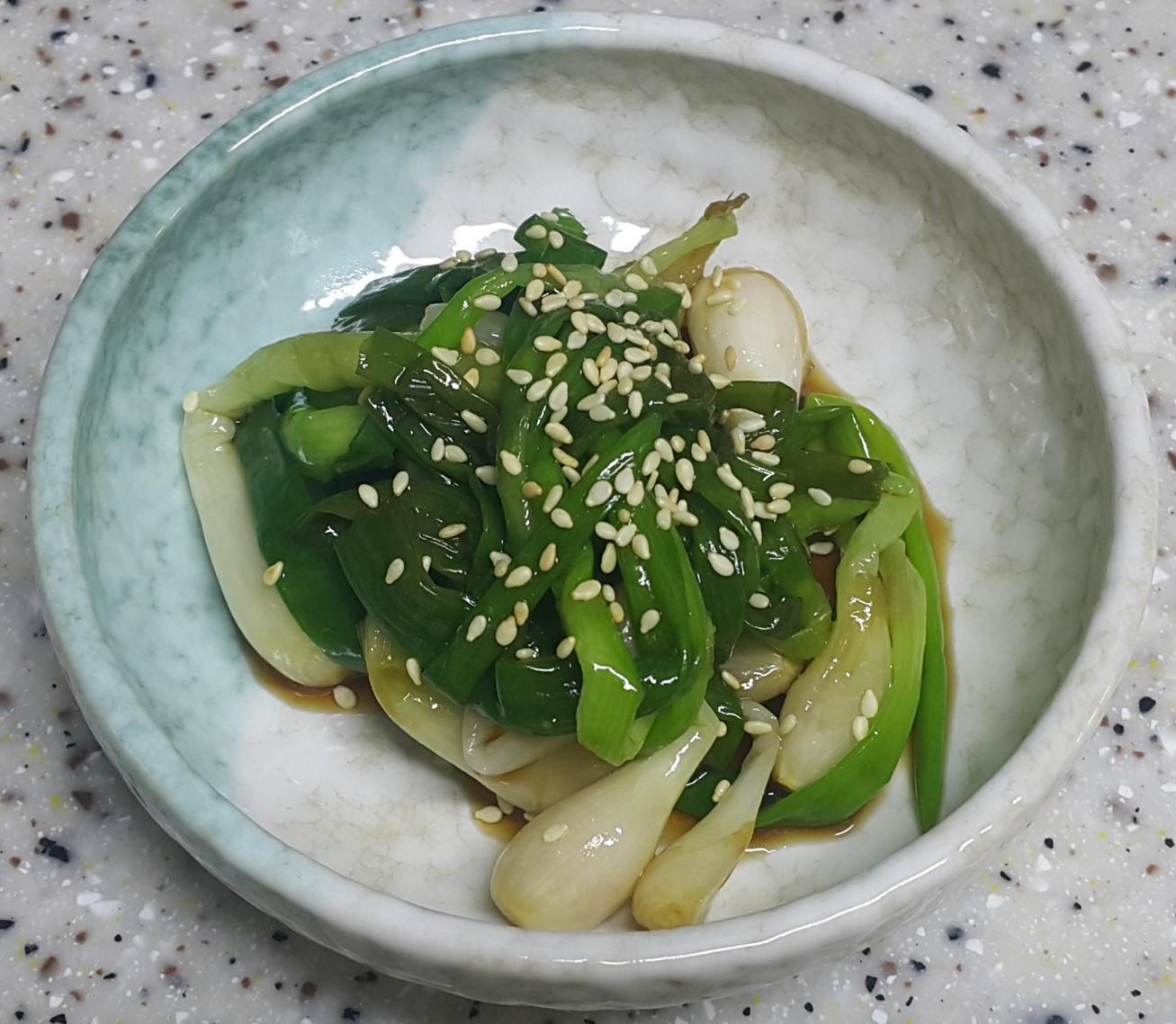 (韓式)小蔥泡菜 실파김치