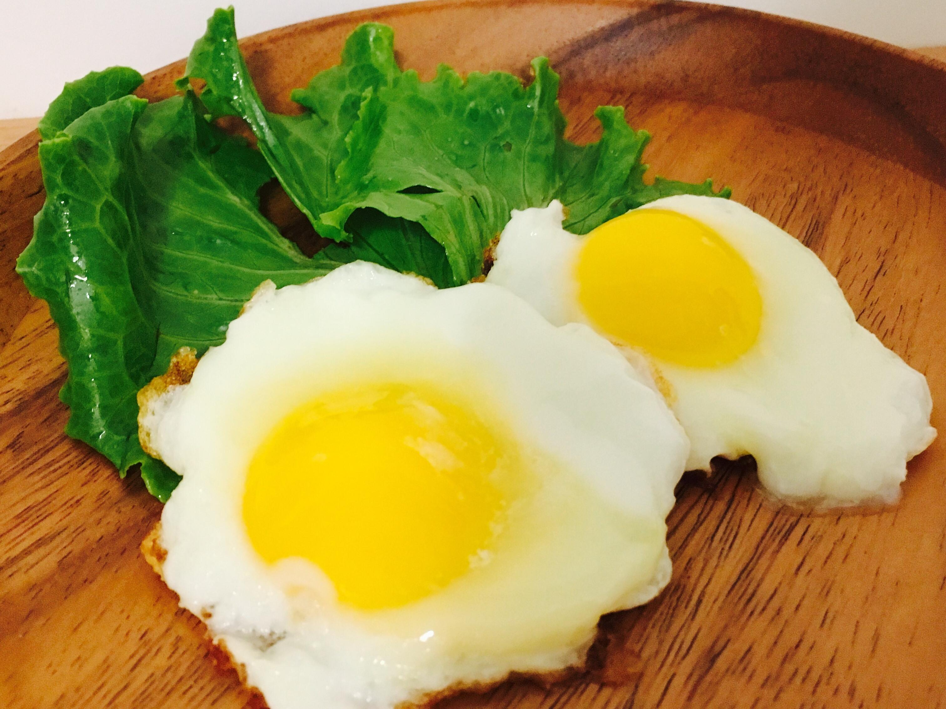 用一顆蛋煎出兩顆蛋