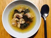 超簡易-香蒜嫩雞瓜子雞湯