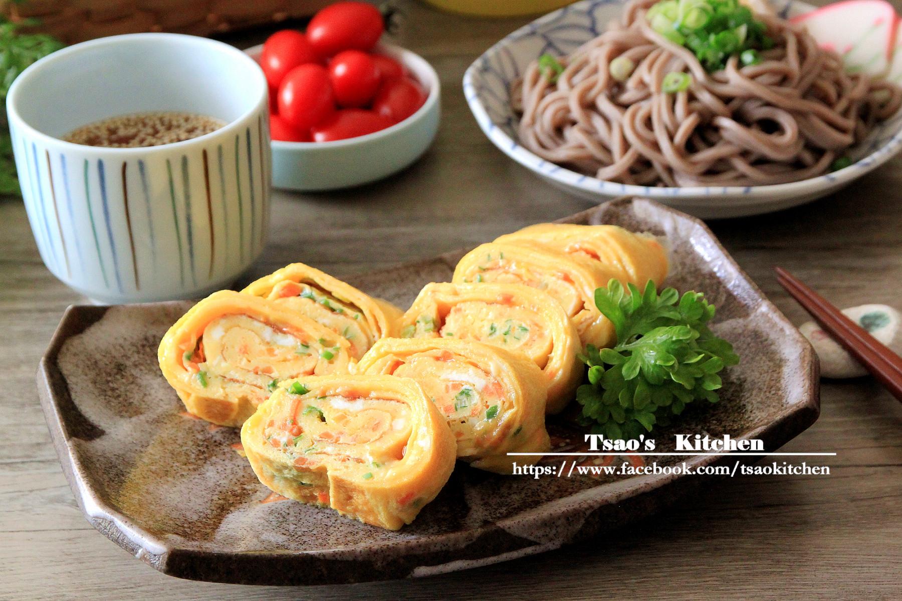 日式厚蛋燒與蕎麥冷麵的邂逅