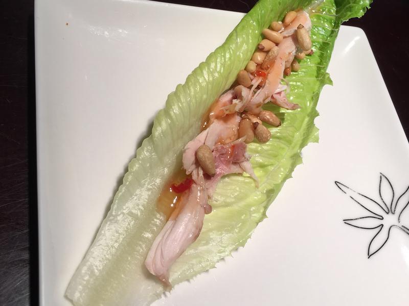 松子烤雞沙拉-清冰箱料理