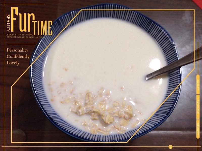燕麥豆漿牛奶