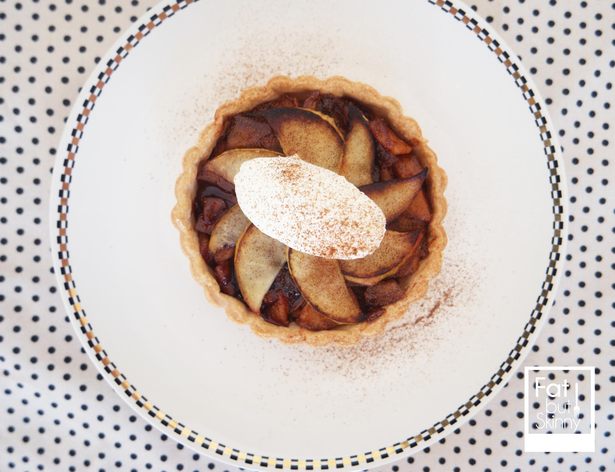 ▶︎烘培食譜◀︎—焦糖肉桂蘋果塔