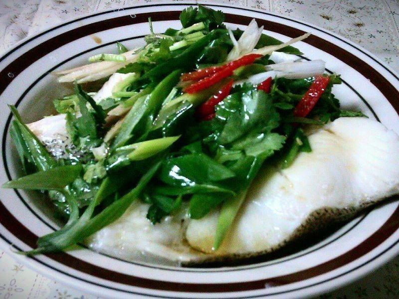 莎拉葉-健康清蒸鱈魚