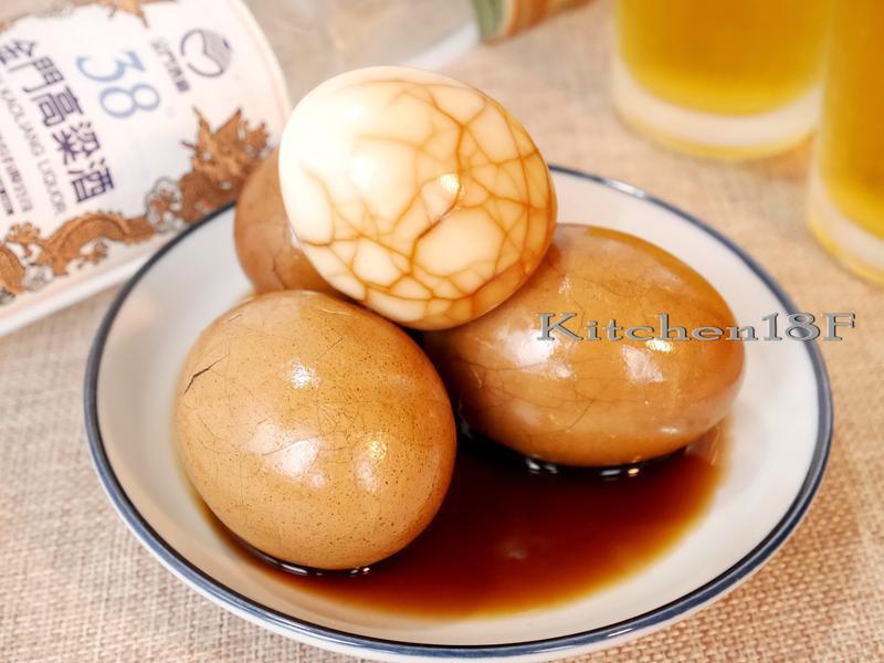 酒香茶葉蛋_電鍋料理【38度金門高粱酒】