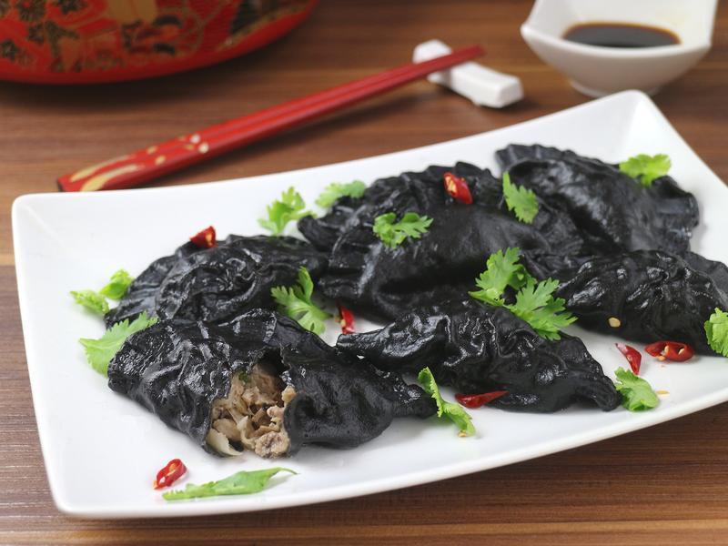 酸白菜肉水餃