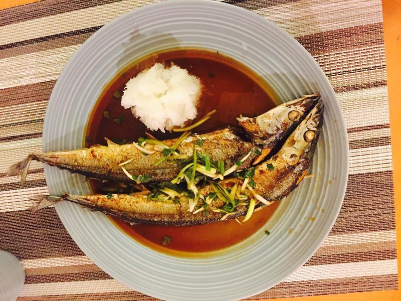 橙汁秋刀魚