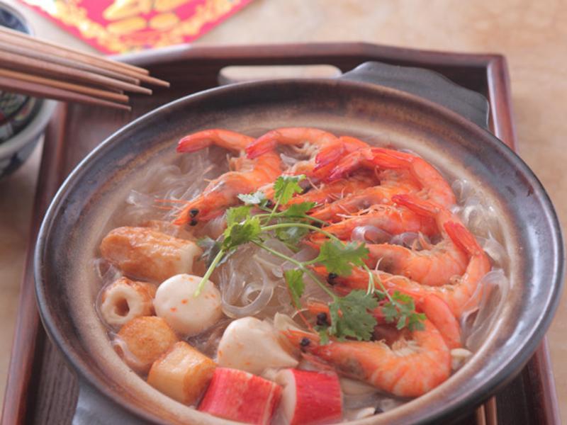 蝦蝦粉絲煲