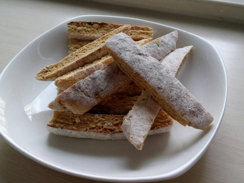 ❤微波爐料理❤超簡易好好吃義大利脆餅