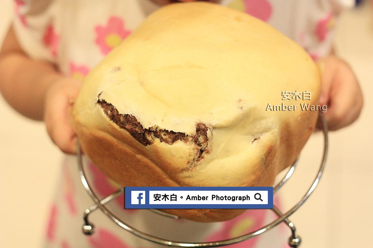 紅豆麵包(小娃動手做)