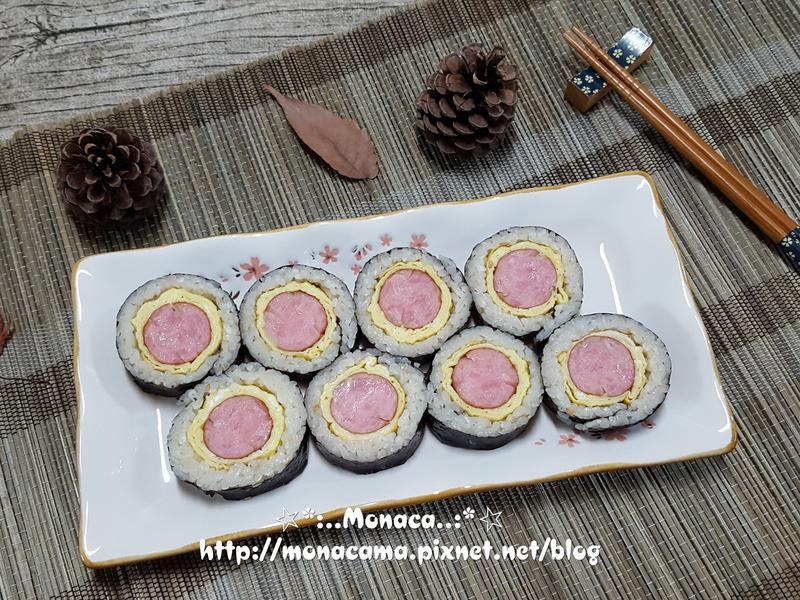 韓式香腸飯捲소시지김밥