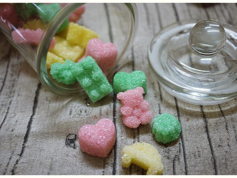 自製彩色造型方糖