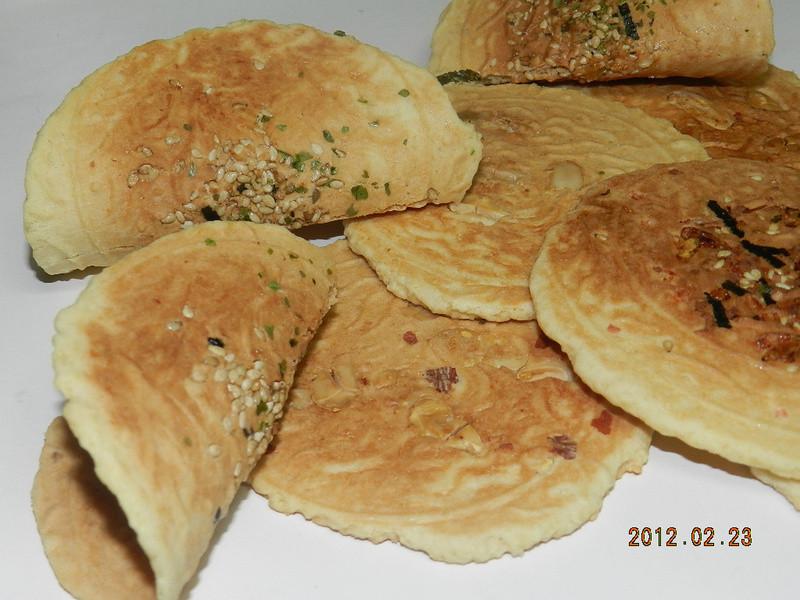 ㄚ曼達的廚房~日式煎餅(四種口味)