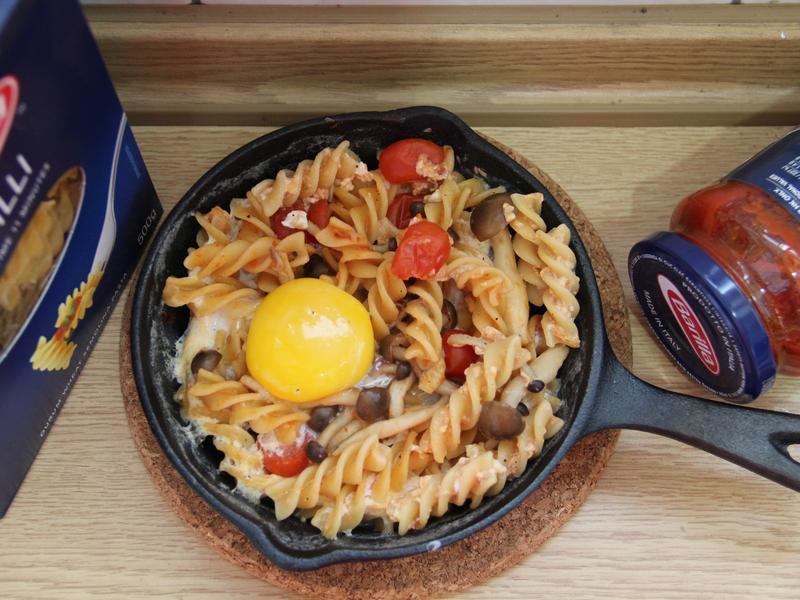 菇菇蕃茄奶香義大利麵【完美絕配義式饗宴】