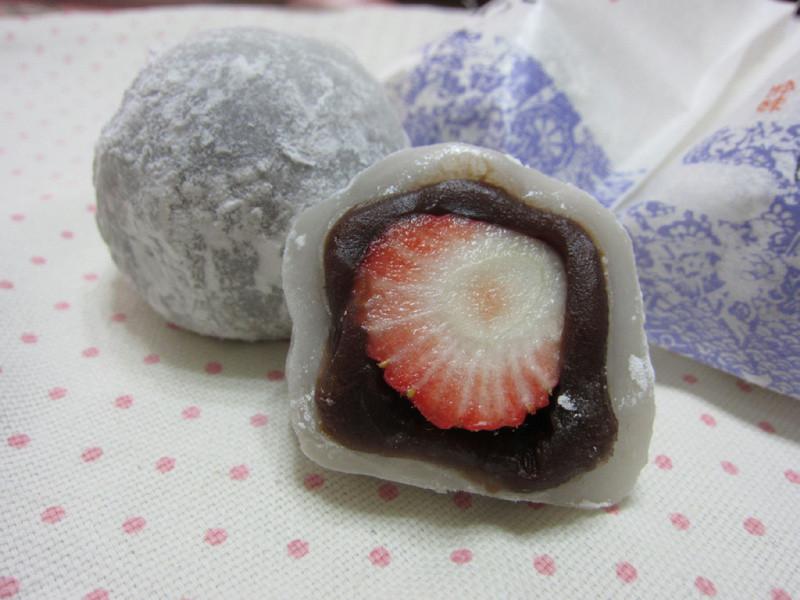 ♥我的手作料理♥ 草莓大福