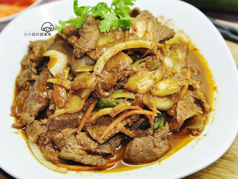 辣味泡菜牛肉