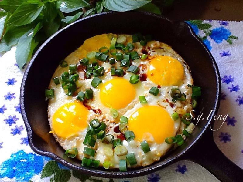 麻油蔥醬蛋