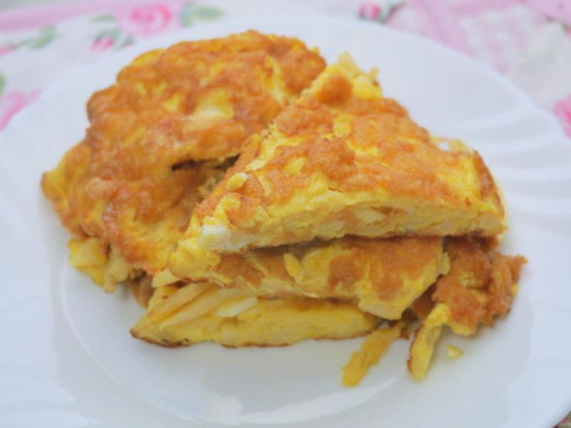 筊白筍煎蛋