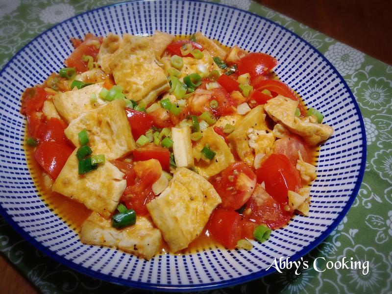 紅燒番茄煨豆腐
