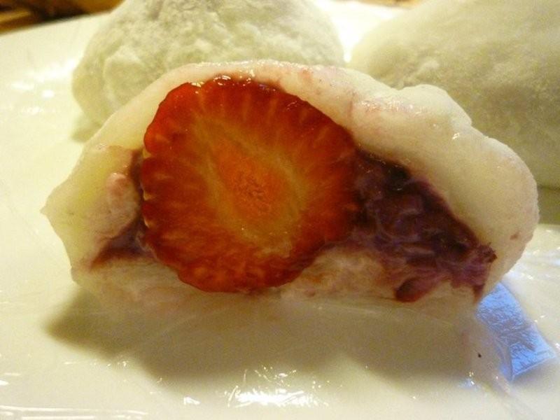 .゚+:✿。.留學生食譜のdouble berry大福.゚+:✿。.゚