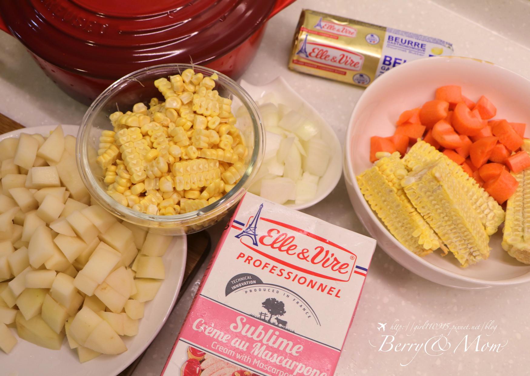五星級的濃湯・奶油玉米濃湯