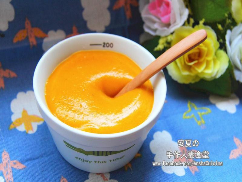 副食品【寶寶的南瓜蔬菜濃湯】
