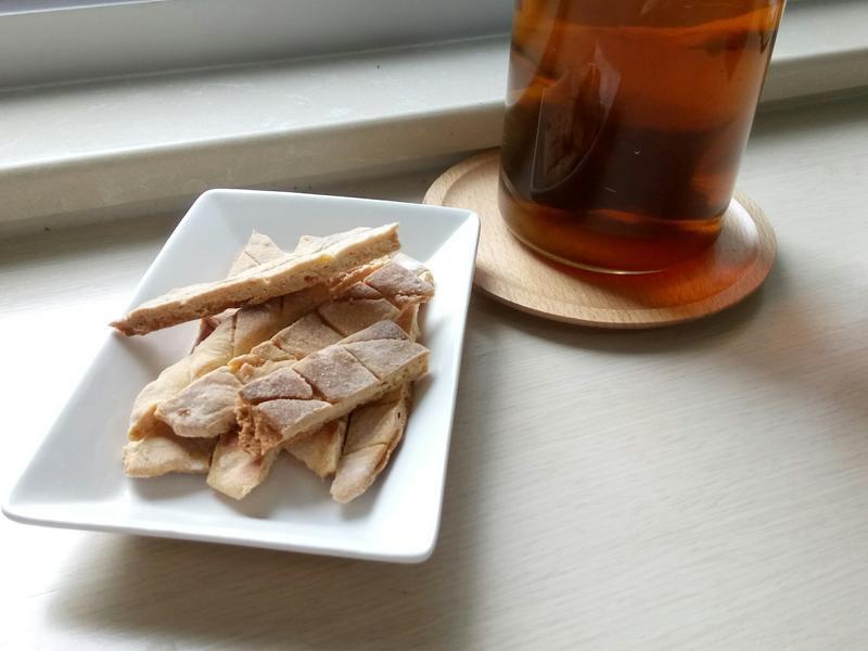 ❤平底鍋料理 ❤酥脆香噴噴菠蘿脆餅