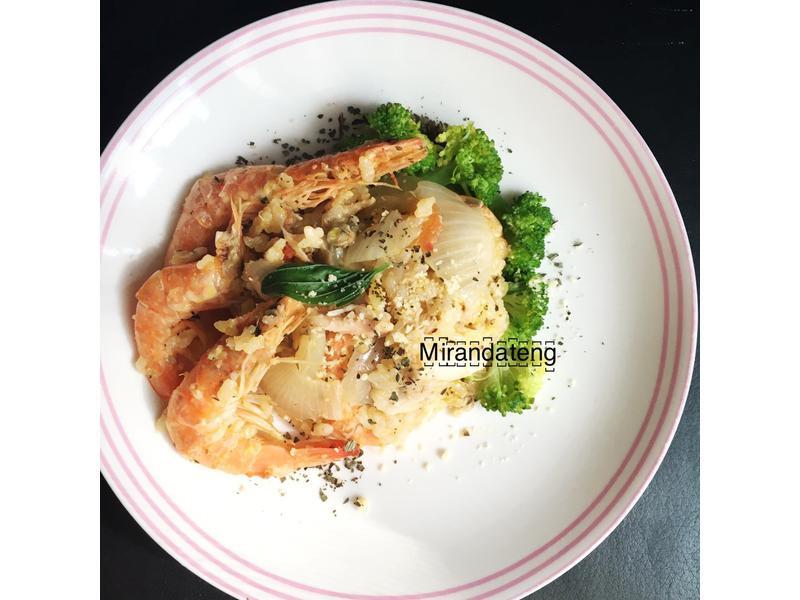 西班牙海鮮燉飯[麵包機料理]