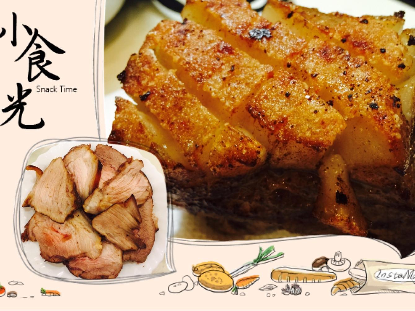 免烤箱脆皮燒肉、叉燒