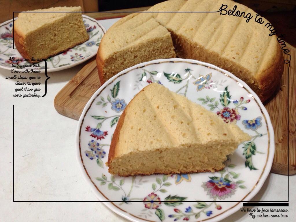 甜蜜蜜蛋糕(電子鍋版)