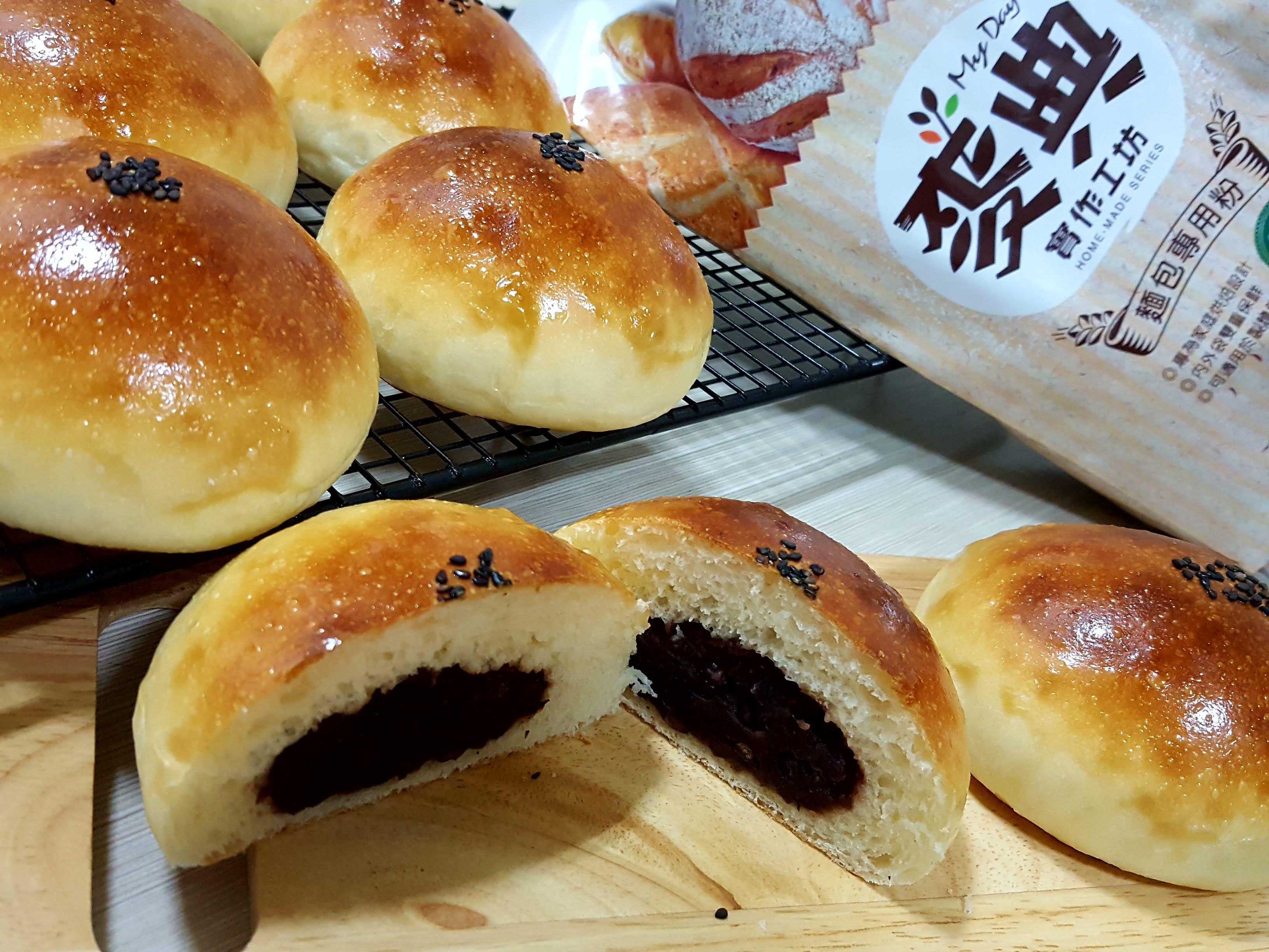湯種紅豆麵包【麥典麵包專用粉】