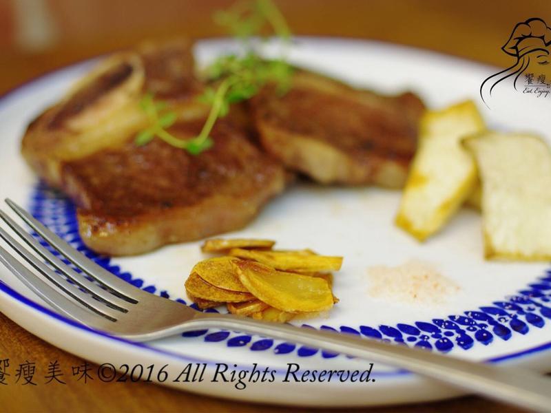 饗瘦美味-水波爐炸蒜片