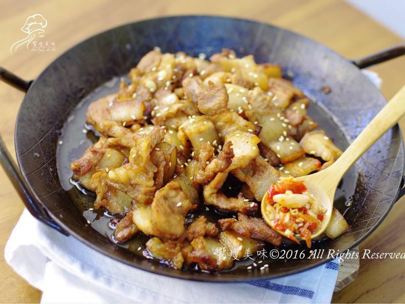 饗瘦美味-醬燒豬五花