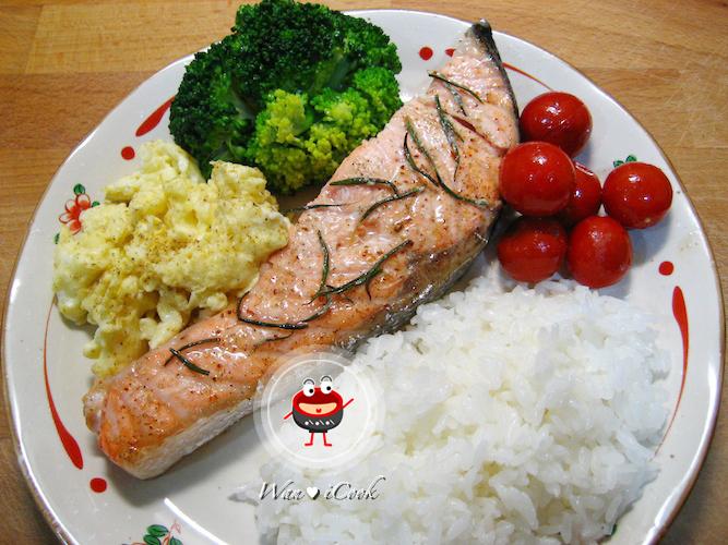 """♡宛の美好""""食""""光 ✿ 迷迭香檸檬烤鮭魚"""