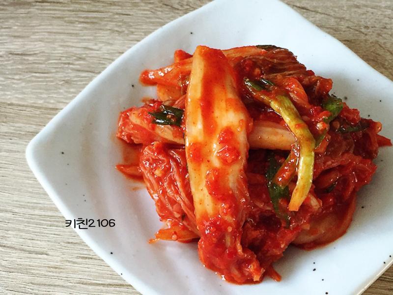 韓式生泡菜--배추걸절이