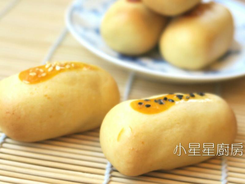 日式白豆沙饅頭(和菓子)