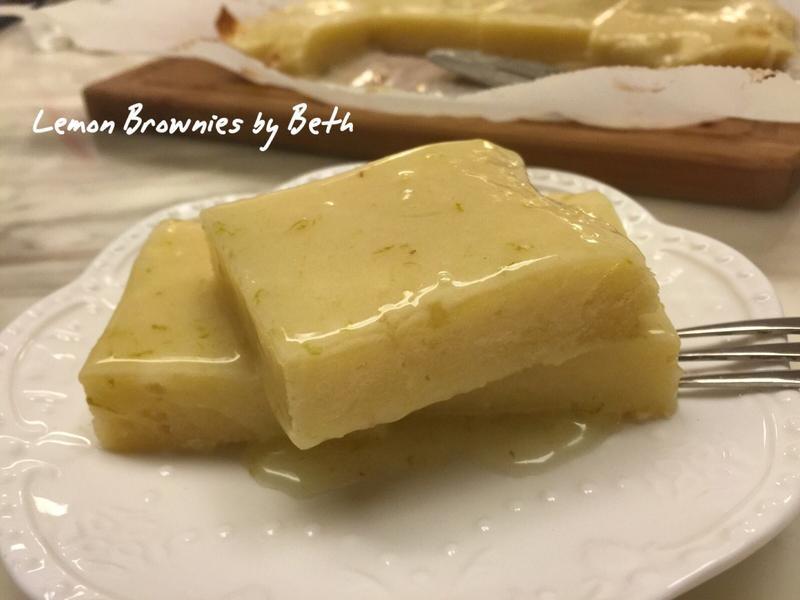 檸檬布朗尼
