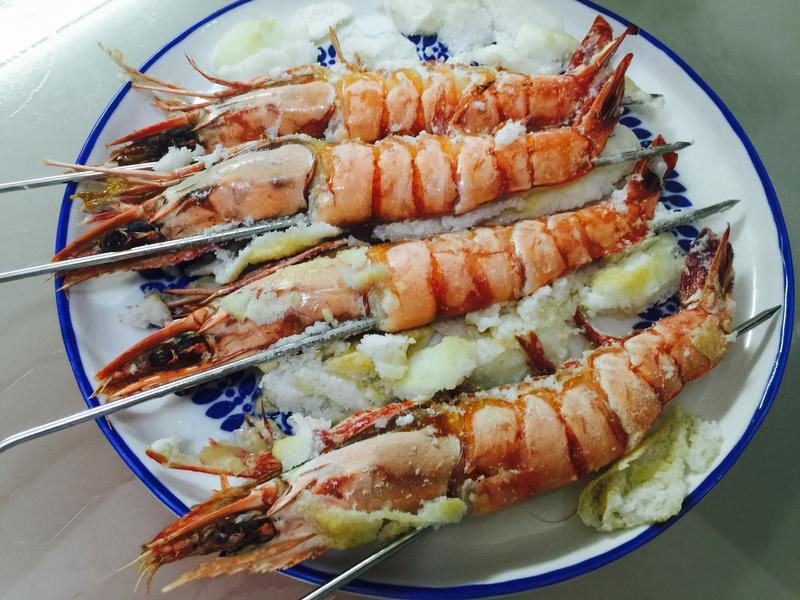 懶人料理:鹽焗大蝦