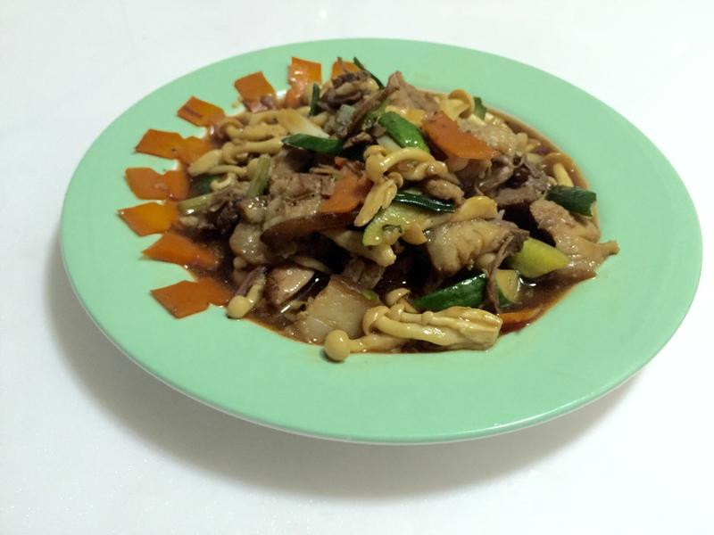 菇toU蔥滷肉