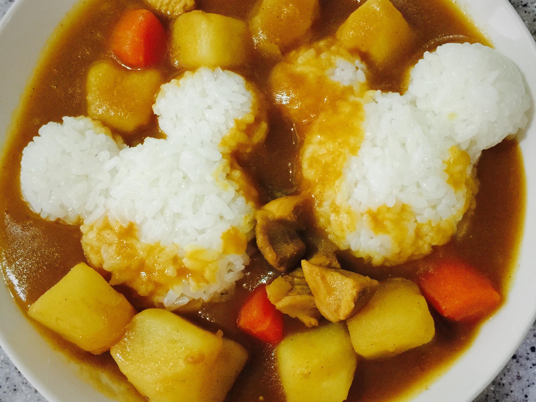 咖喱雞肉飯🍛