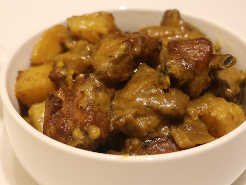 印度咖哩焗豬肋