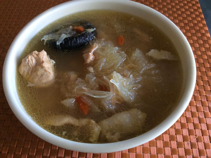 魚翅瓜煲雞湯