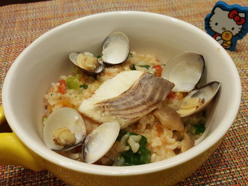 寶寶副食:電鍋版蕃茄鯛魚燉飯