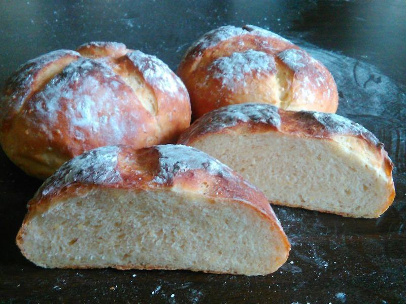 小米鄉村麵包